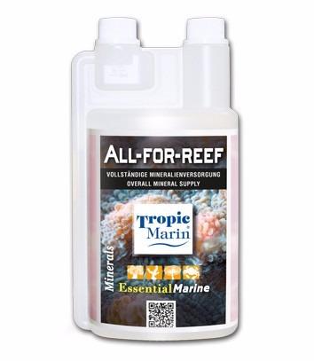 tropic marin solução - all for reef 500ml