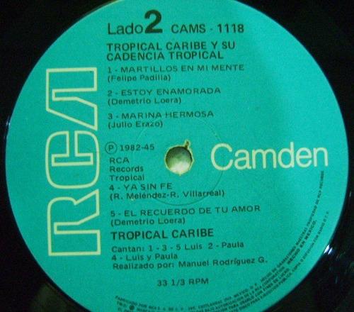 tropical caribe 1 disco lp vinil