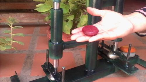 troquel con 2 moldes para hacer jabones