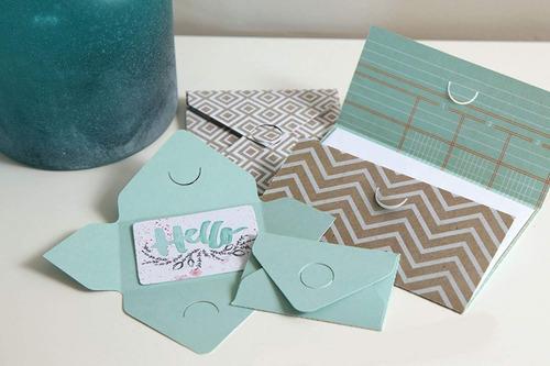troquel envelope notcher we r memory keepers sobres tarjetas