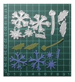 troquel flor, scrapbook manualidades