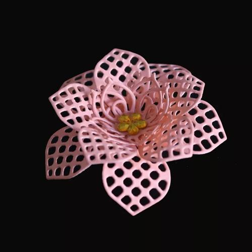 troquel flor,3d,scrapbook,big shot,manualidad,tarjeta,papel