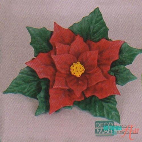 Troquel Molde Termoformado Flores D Navidad Y Rosas
