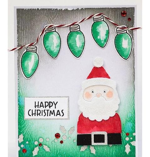 troquel papa noel,scrapbook,navidad,regalo,big shot,santa