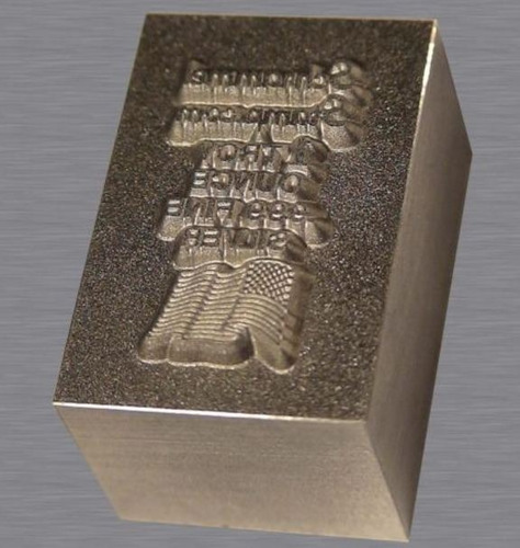 troquel para marcar oro y plata y cuero