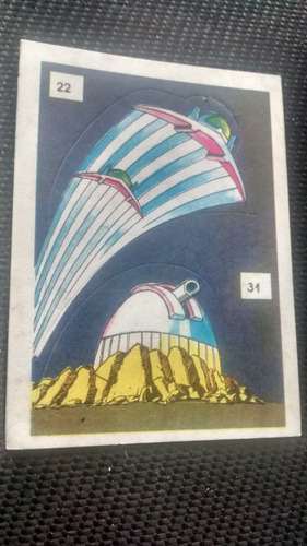 troqueladas superamigos nros 22/31 sin despegar cromy 1987