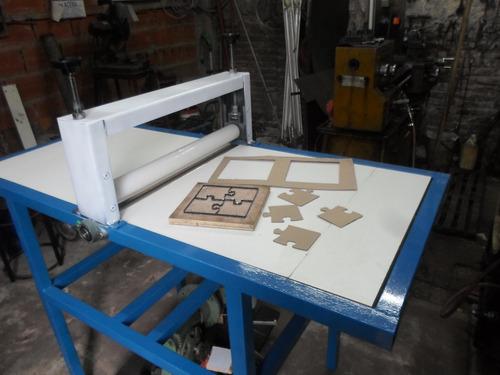 troqueladora  70 cm con motor carton,goma,papel ,etc