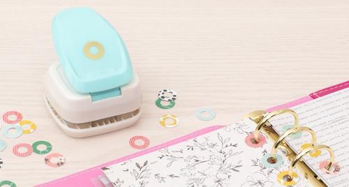 troqueladora/perforadora de donas decorativas de ojales