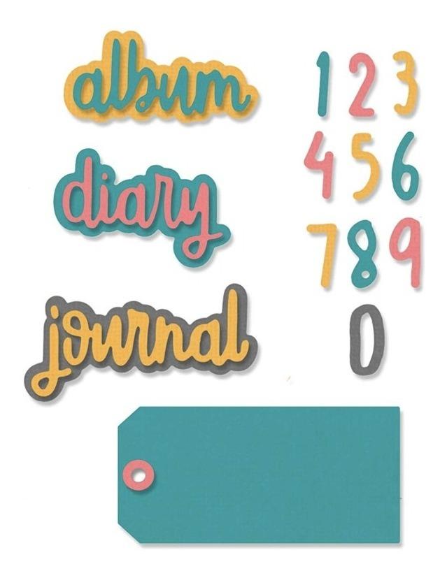 Troqueladoras De Frases Para Diario Journal Phrases Sizzix