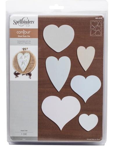 troqueladoras para tela y fieltro steel rule hearts spellbin