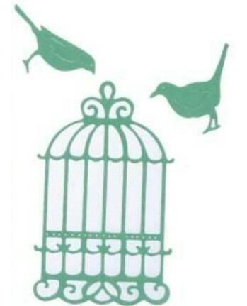troquel,jaula,aves,big shot,scrapbook,papel,tarjeta,adorno