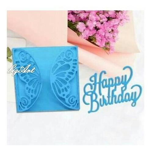 troquel,tarjeta,feliz cumpleaños,mariposa,scrapbook,fiest
