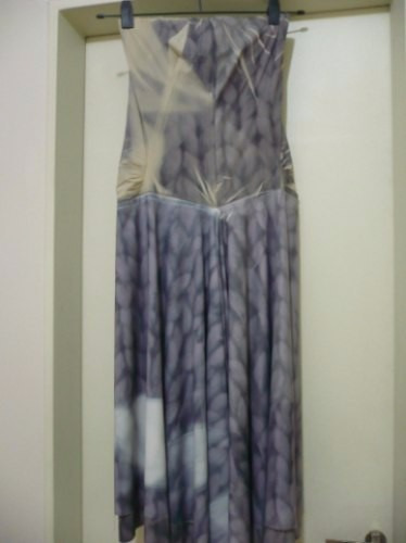 trosman!!! ofertón! vestido de seda natural, precioso!