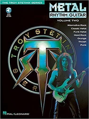 troy stetina curso - heavy metal rhythm gutiar vol i - ii