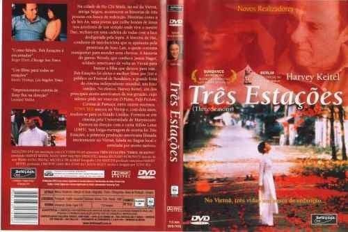 três estações - dvd seminovo original raríssimo