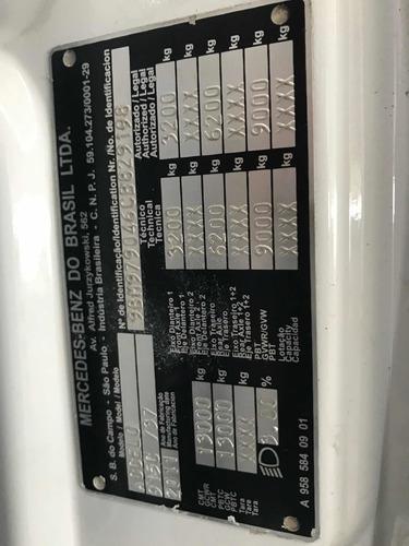 trucado mb 915c 2012 na bahia suspensor terceiro eixo varios