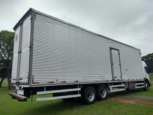 truck baú de 11:50 metros - cama gaúcha - teto alto