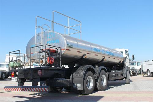 truck ford cargo 2628 traçado tanque de agua - pipa