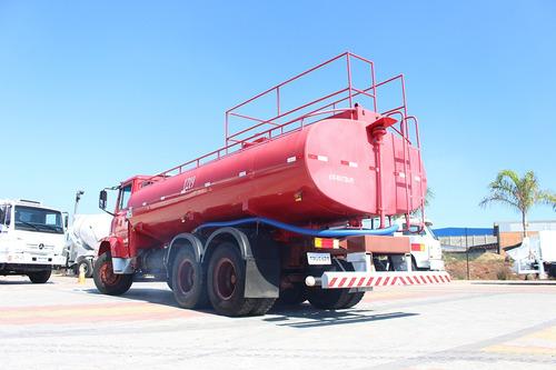 truck mb 1621 1992 6x2 pipa 15 metros cúbicos
