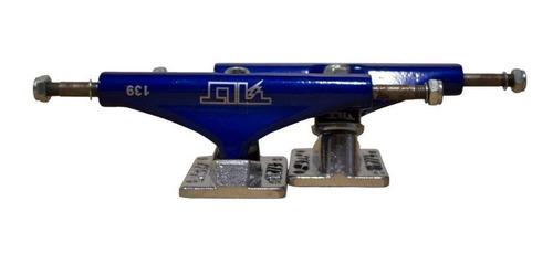 truck skate tilt profissional collor 139mm - azul