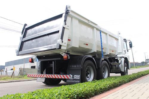truck vw volks 31320 2011 6x4 traçado caçamba 14 metros