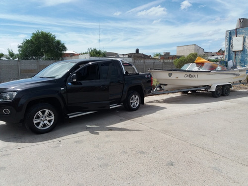 trucker 6.4 con yamaha 90