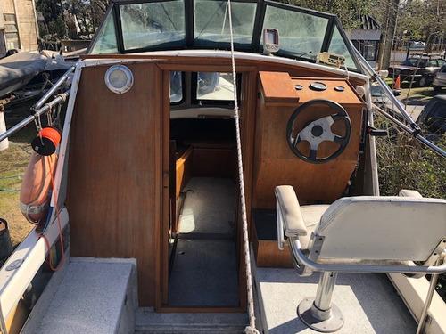 trucker cabinado grand jean mercury 115hp 4t 2008 excelente