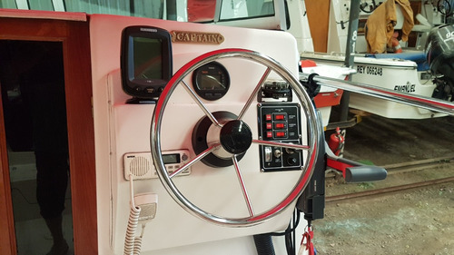 trucker cabinado prinz modelo profish 630 2011 nuevo 65horas
