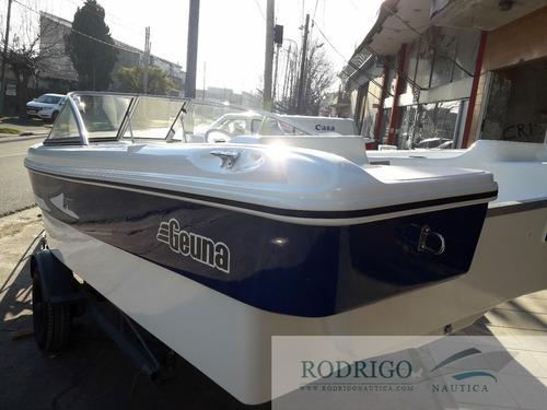 trucker gt 540 open # oferta especial casco s/motor #