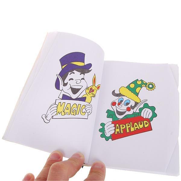 Truco De Magia Para Fiestas - Libro Para Colorear De Magia ...