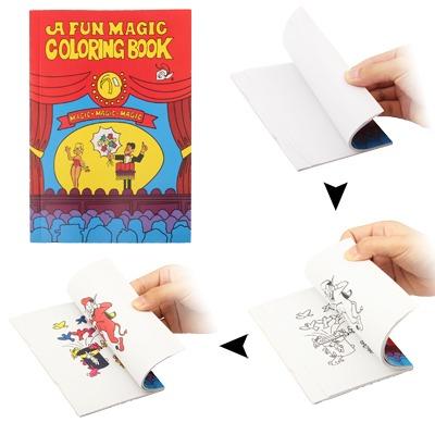 Truco Fiesta Magica Broma Juguete Magia Libro Para Colorear - Bs ...