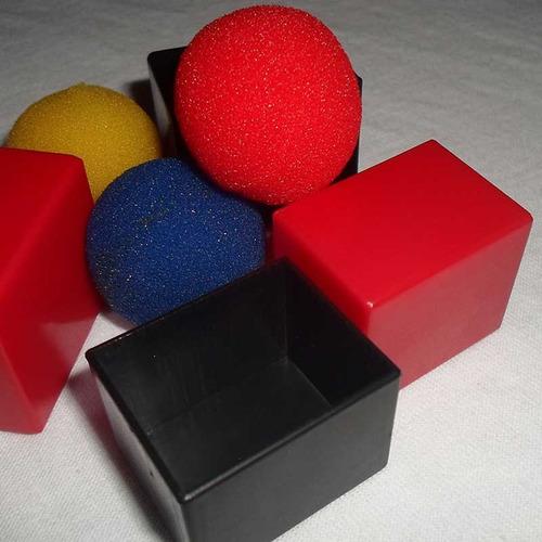 trucos de magia, parabox tenyo los 3 cubos mágicos