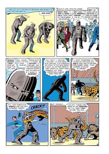 true believers jack kirby 100th anniversary: iron man (2017)
