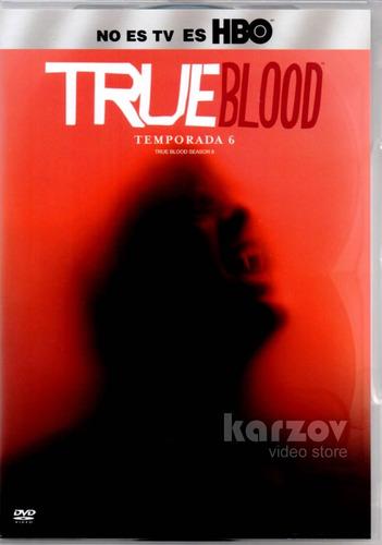 true blood temporada 6 seis sexta dvd