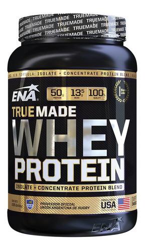 true made whey protein ena 2 lb aislada + concentrada