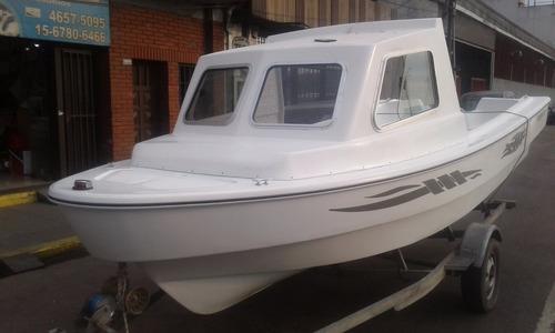 truker virgin marine 520 1/2 cabina     nautica gral paz