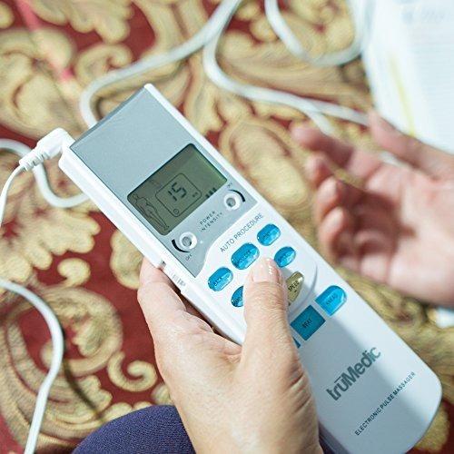trumedic unidad de tens electronic pulse masajeador