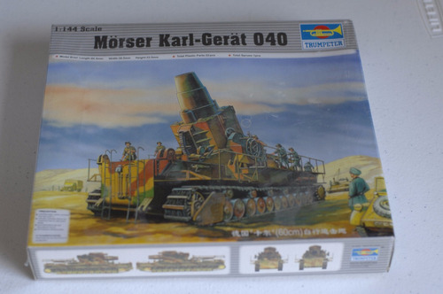 trumpeter 1/144 morser karl-gerat 040