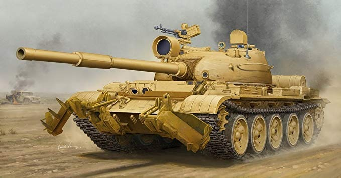 Trumpeter 1/35 T-62 Mod 1962 (iraq Modification) Model Kit