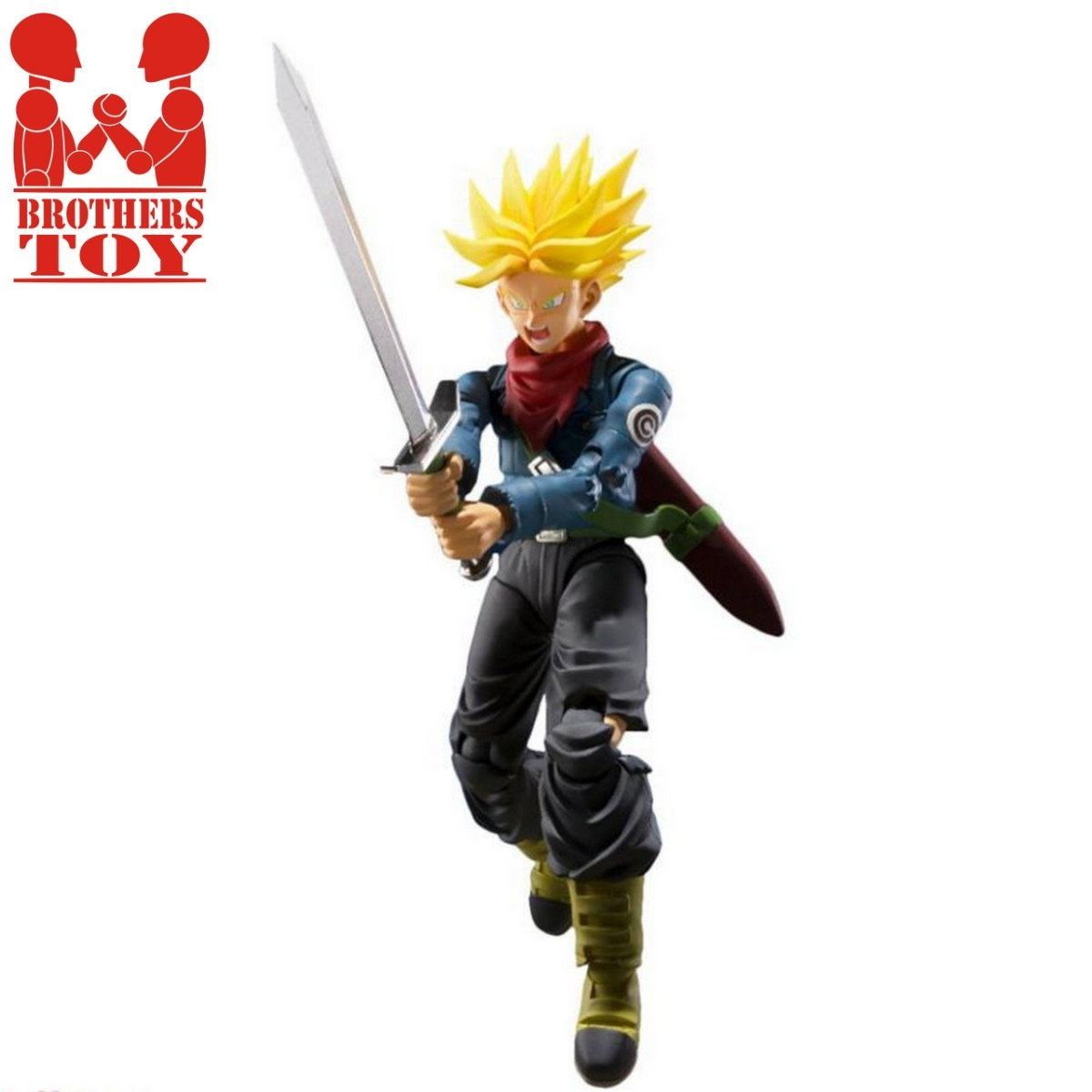 Figuarts Future Trunks Dragon Ball Super Action Fig Tamashii Nations Bandai S.H