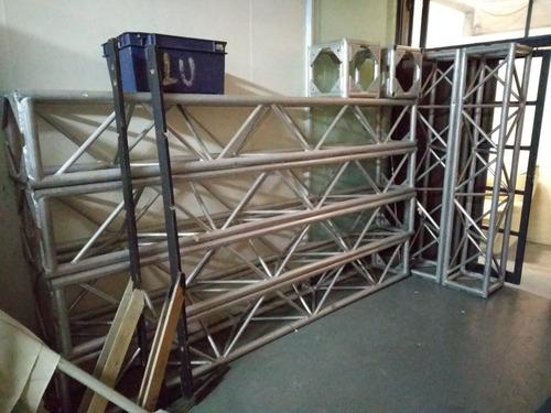 truss aluminio 40 x40 ofertón