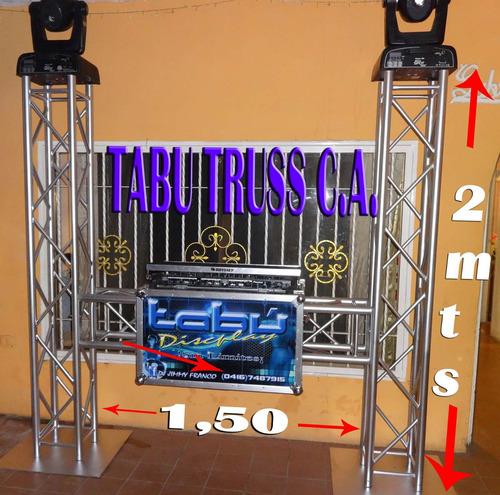 truss en tubos galvanizados livianos medidas global truss..