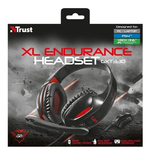 trust audifonos gxt 330 xl headset para pc/ps4 - phone store