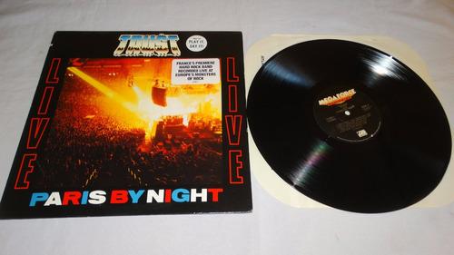 trust - live! paris by night '89 (megaforce) (vinilo:ex - co