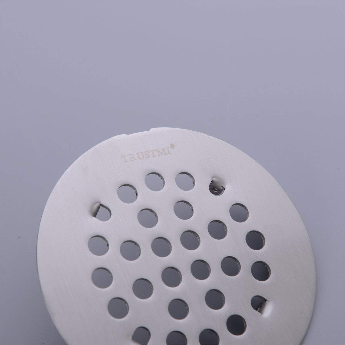 TRUSTMI 4 1//4-inch Screw-in Shower Drain Grate Replacement Cover Brushed