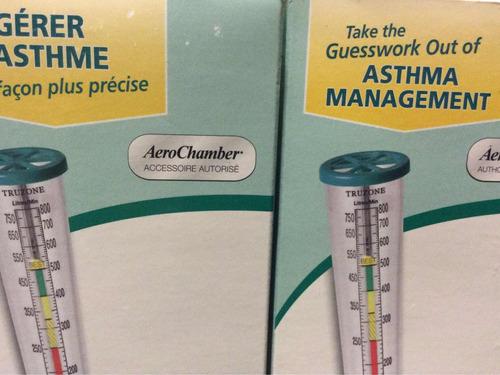 truzone (flujometro pulmonar) de aerochamber