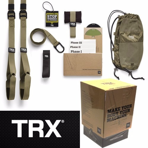 trx force kit t3 tactical dvd  bandas gym crossfit foto real