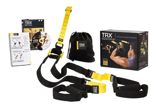 trx tv pro pack kit entrenamiento original + accesorios + ob