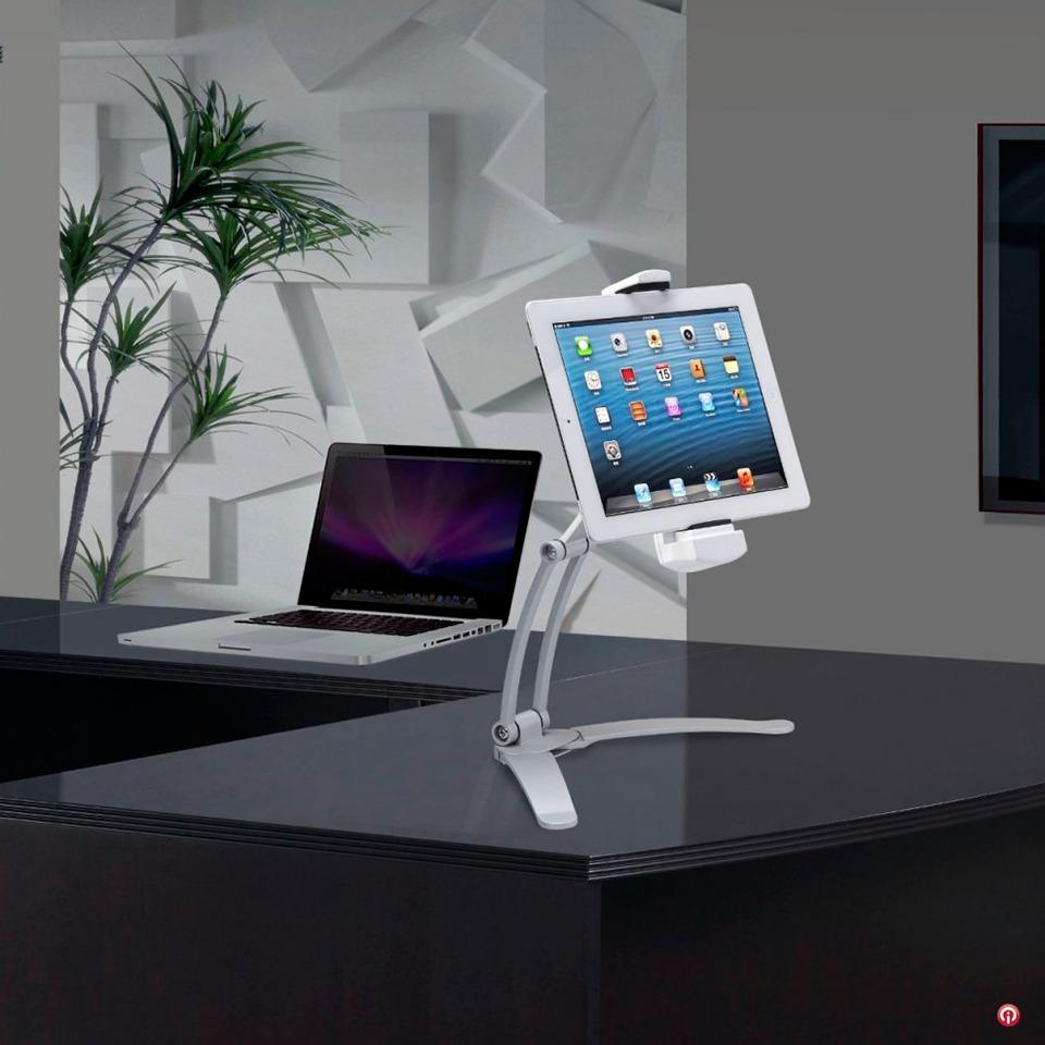 Tsckms Soporte Aluminio Articulado Tablet iPad Escritorio