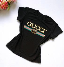 37373c1c9 Gucci Blusas Menina - Camisetas e Blusas no Mercado Livre Brasil